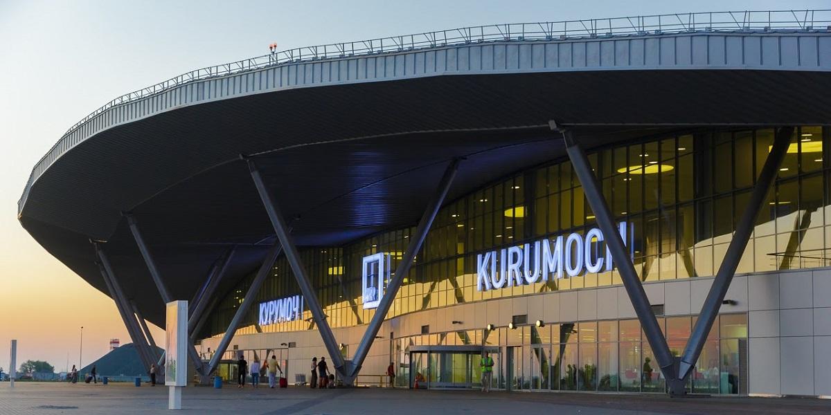 На фото: Аэропорт Курумоч (Самара)